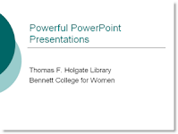 Powerful PowerPoint Presentations